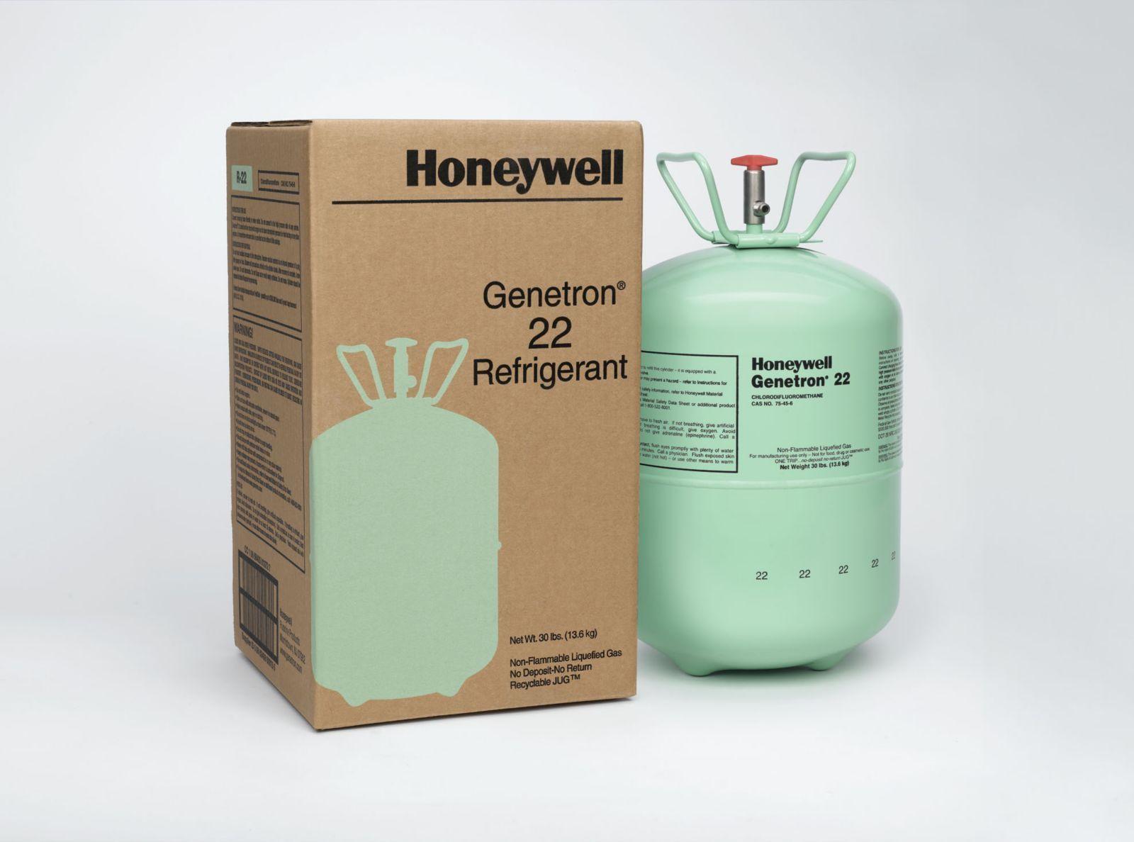 R22 Refrigerant For Sale >> Honeywell Refrigerants Gas Genetron R22 13.6kgs USA ...