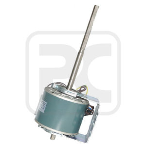 5.0 uF 125W Fan Coil Motor Three Speed 1000 - 1400 RPM Single Phase