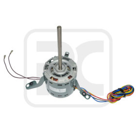 Double Shaft Split Air Conditioner Indoor Electric Fan Motor With Capacitor
