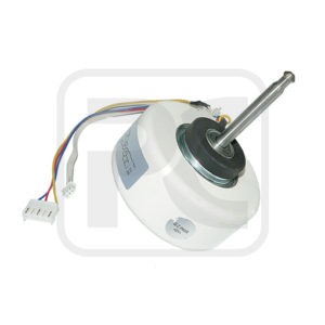 Resin Packed Air Condition Fan Motor , Customize 4 Pole Brushless Motor