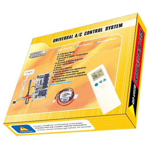 QD-U02B Universal Air Conditioner PCB Board with AC Remote Control System